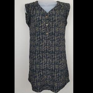Mine Abstract Shirt Dress / Tunic, S